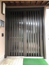 玄関リフォーム カバー工法