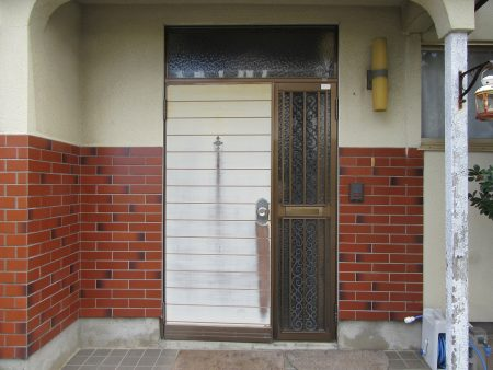 玄関リフォーム工事